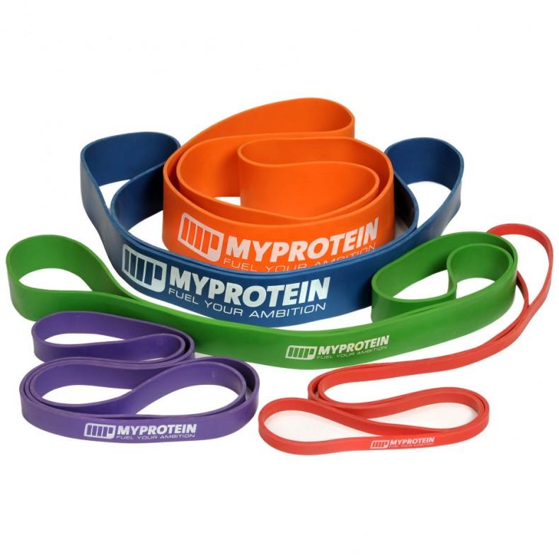 Test accessoire musculation : bandes de résistance élastiques Myprotein