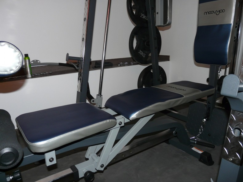 TUTO:Modifier le banc de la  Smith machine cobra Moovyoo