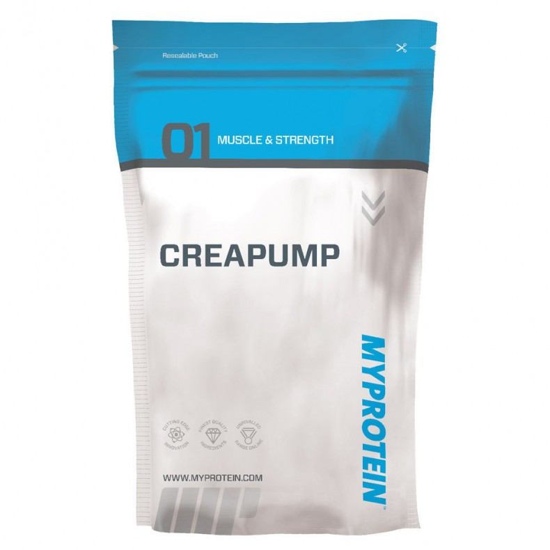 Test complement alimentaire : Booster Créapump  MyProtein