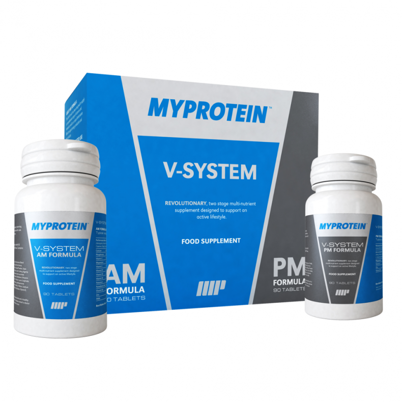 Test Complement alimentaire:  MP MAX® V-System Myprotein