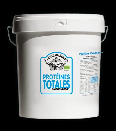 Test complement alimentaire :  Protéines totales de lait de  Nutrimuscle