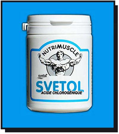 Test complement alimentaire :  Bruleur de Graisse SVETOL de nutrimuscle
