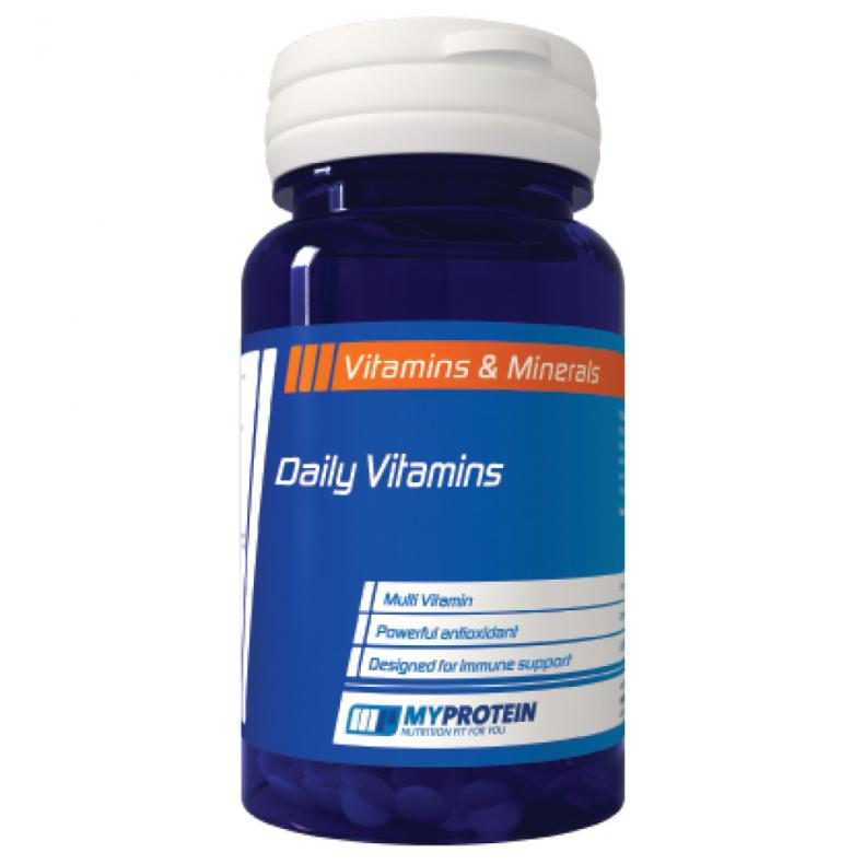"""Test complement santé : """"vitamines journalières """" de Myprotein"""
