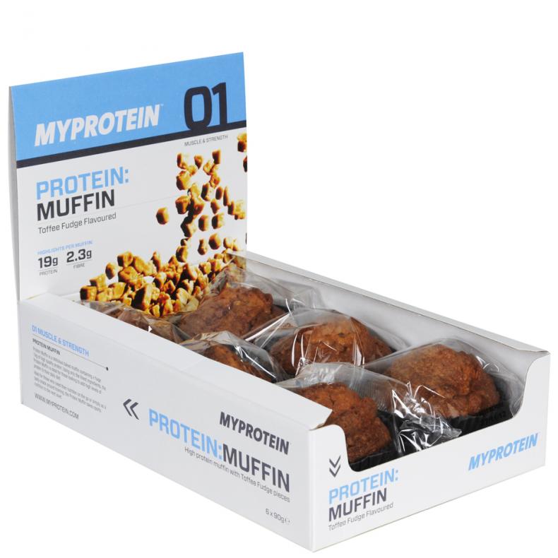 Test complement alimentaire :  muffins Protéinés de Myprotein