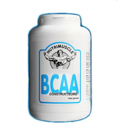 Test complement alimentaire :  BCAA Constructeurs  de Nutrimuscle
