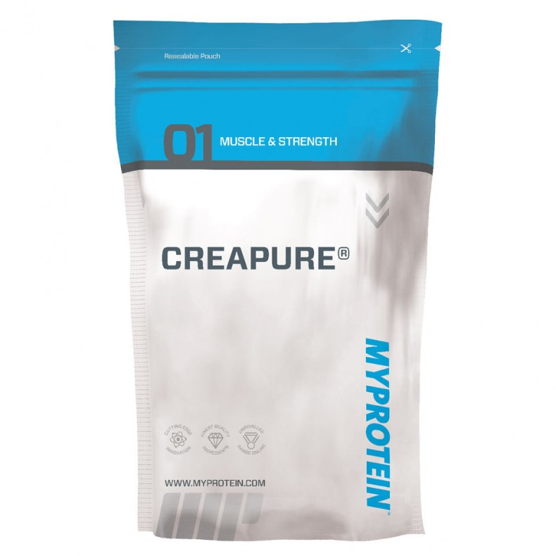 Test complement alimentaire:  Créatine Monohydrate Creapure de  Myprotein