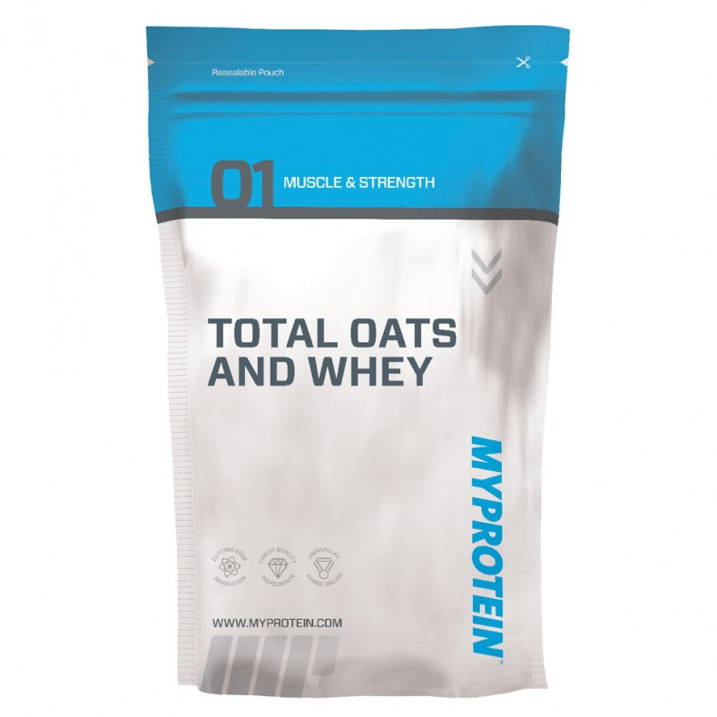 Test complement alimentaire : Gainer OATS AND WHEY de  MyProtein