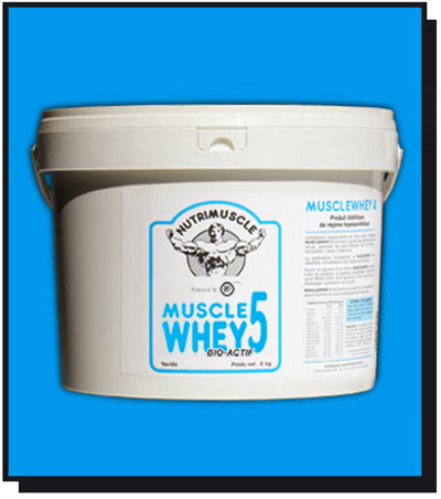 Test complement alimentaite:  MuscleWhey 5 de nutrimuscle