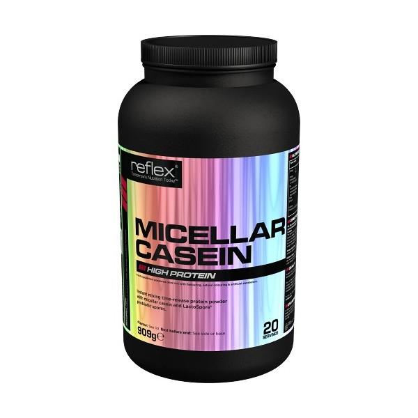 Test complement alimentaire :  Micellar Casein de Reflex Nutrition