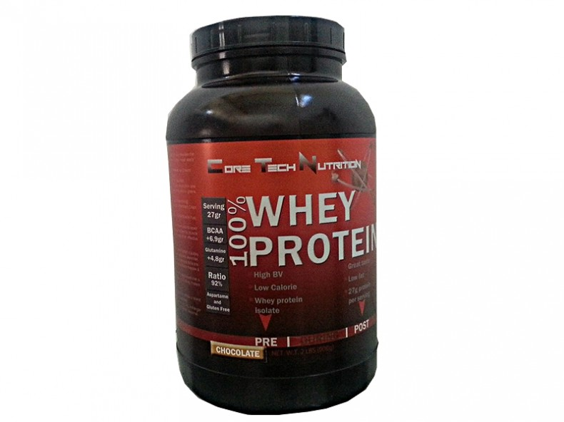 Test complement alimentaire: Whey de  Core Tech Nutrition