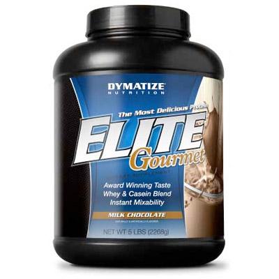 Test complement alimentaire:  proteine Elite Gourmet de Dymatize