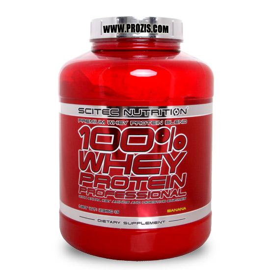 Test complement alimentaire : 100% Whey Proteine de  SCITEC