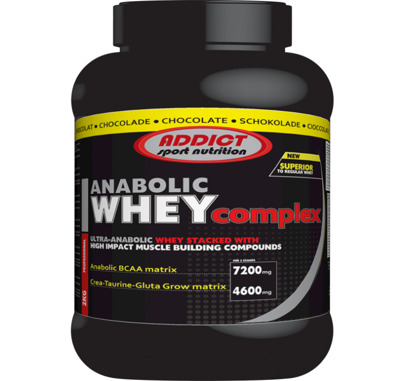 Test complement alimentaire :  Anabolic Whey Complex d'Addict Sport Nutrition