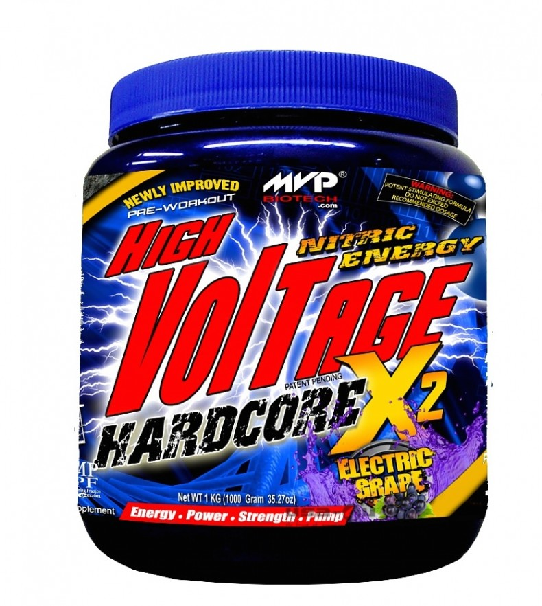 Test complement alimentaire : Booster High Voltage X2 de  Mvp Biotech