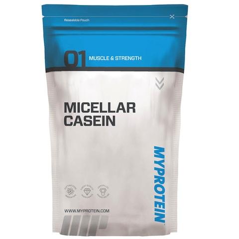 Test complement alimentaire : Caséine Micellaire de  Myprotein