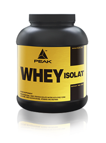 Test complement alimentaire :  Whey Isolat de Peak