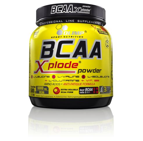 Test complement alimentaire :  des BCAA Xplode d' Olimp Sport Nutrition