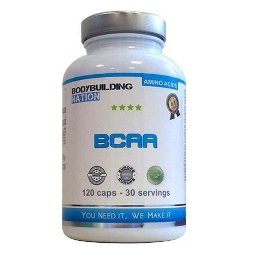 TEST complement alimentaire :  BCAA CAPS DE BODYBUILDING NATION