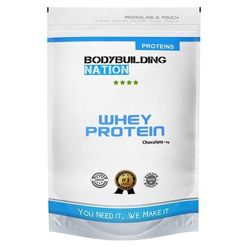Test complement alimentaire : whey proteine de Bodybuilding Nation