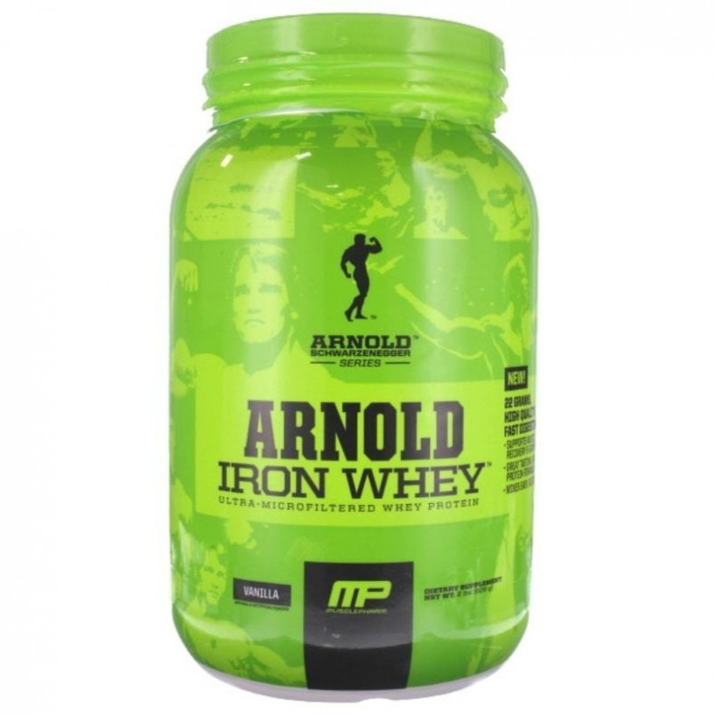Test complement alimentaire :   Arnold Iron Whey de chez MusclePharm