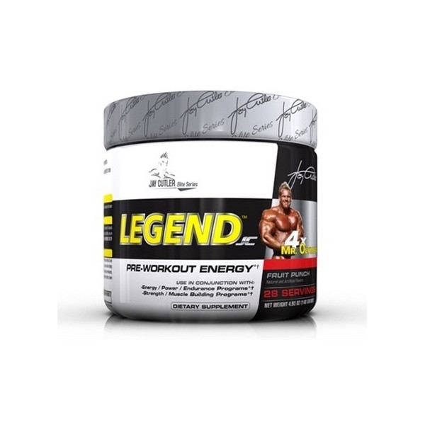 Test complement alimentaire : Booster Legend Jay Cutler Elite Series