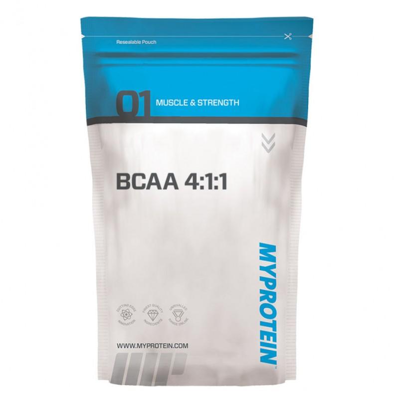 TEST complement alimentaire :  DES BCAA 4.1.1 DE MYPROTEIN