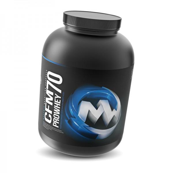 Test complement alimentaire : prowhey CFM 70 de Maxxwin nutrition