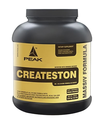 Test complement alimentaire : Createston de Peak