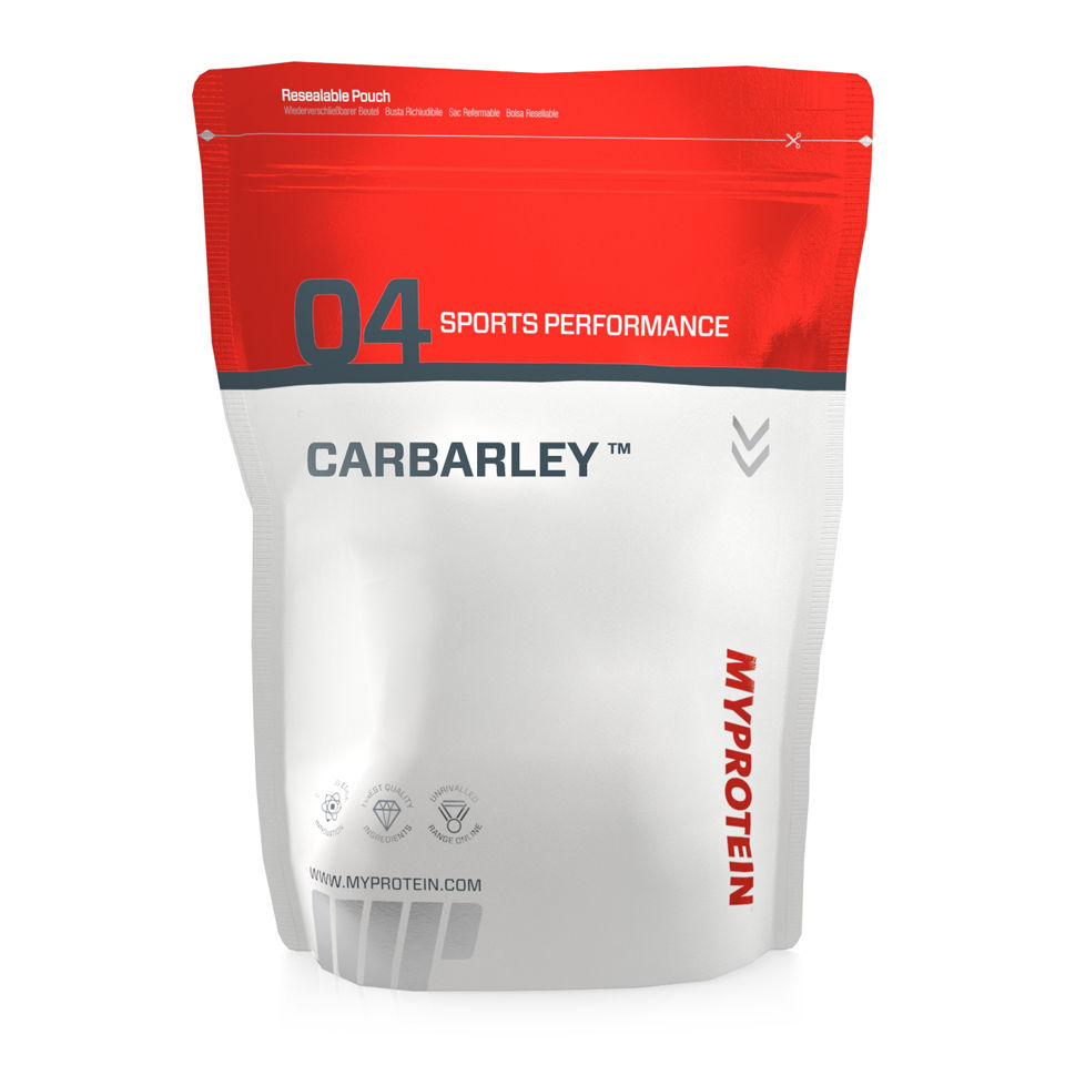 Test complement alimentaire :  Glucide Carbarley de Myprotein