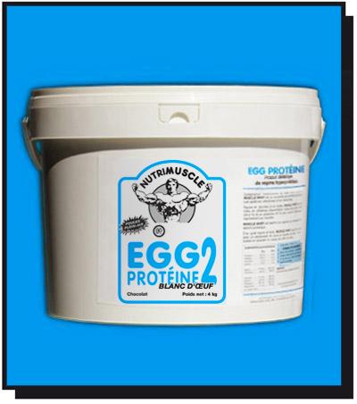 Test complement alimentaire : Egg 2 Protéine aromatisée de  Nutrimuscle
