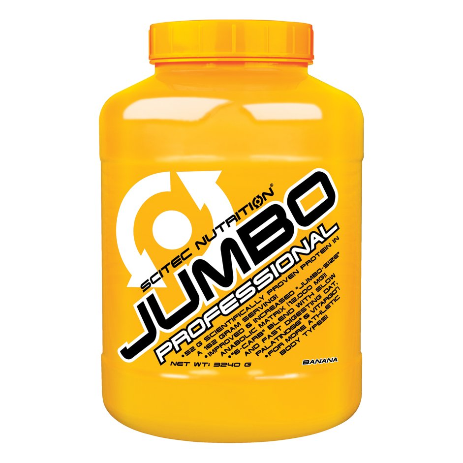 TEST complement alimentaire :  Gainer JUMBO PROFESSIONAL DE SCITEC NUTRITION