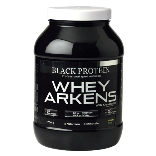 Test complement alimentaire : Whey Arkens de  Black Protein