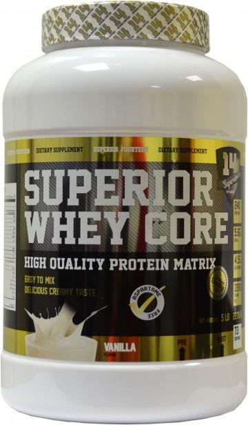 Test complement alimentaire : Superior Whey Core de Superior14