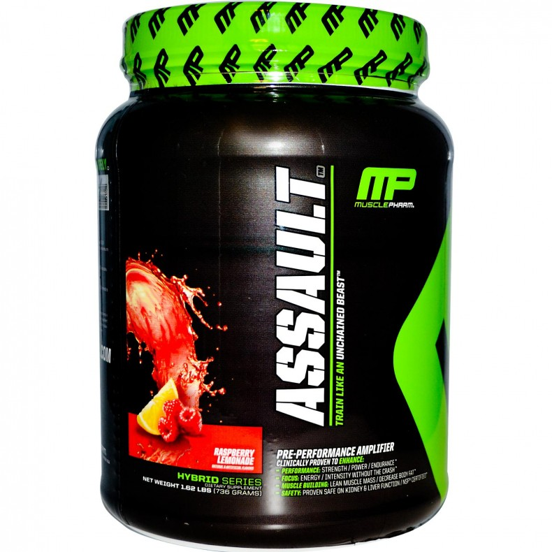Test complement alimentaire:  Booster Assault de MusclePharm (Nouvelle formule)
