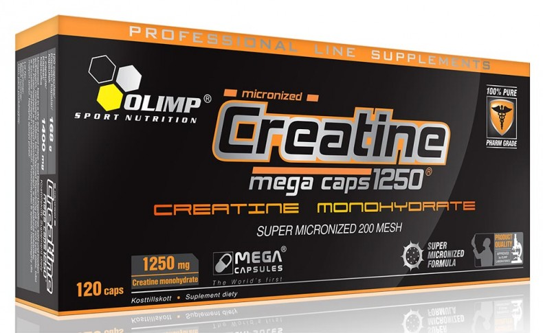 Test complement alimentaire:  CREATINE MEGA CAPS d'Olimp sport nutrition