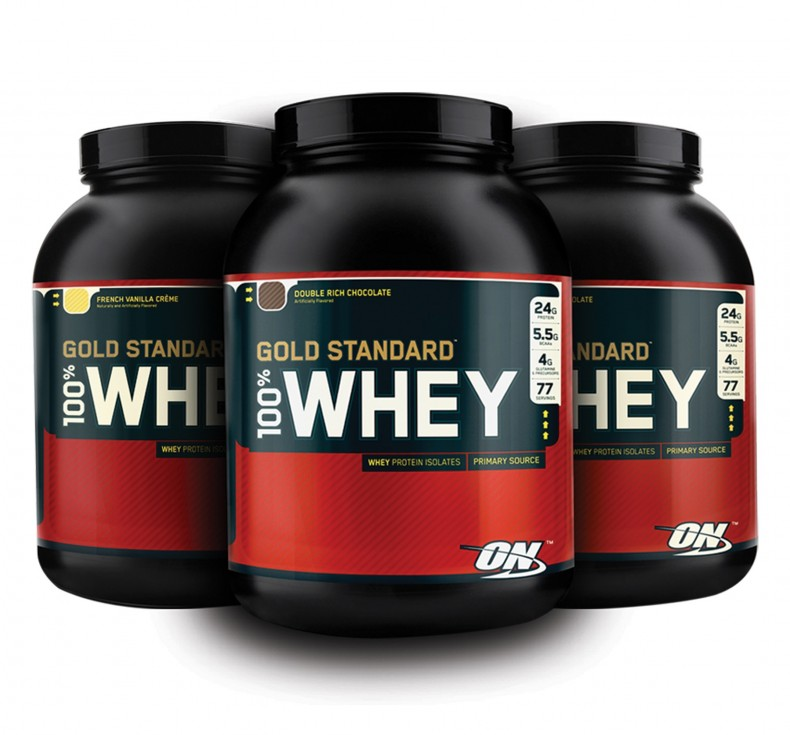 TEST complement alimentaire :  100% WHEY GOLD STANDARD D' OPTIMUM NUTRITION