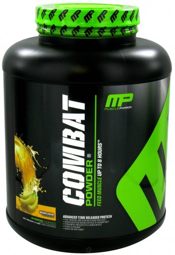 Test complement alimentaire : Combat Protein Powder de Muscle Pharm