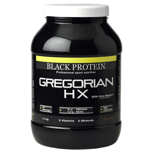 Test complement alimentaire :Gainer gregorian HX de Black Protein