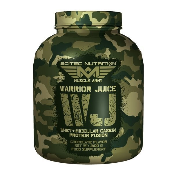 Test complement alimentaire :  Warrior Juice Muscle Army de Scitec Nutrition