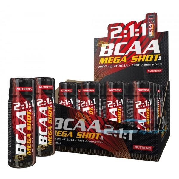 Test complement alimentaire : des BCAA Mega Shot de Nutrend