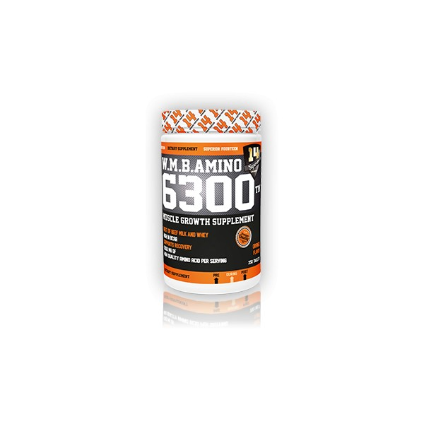 Test complement alimentaire : W.M.B. Amino 6300TM de Superior14
