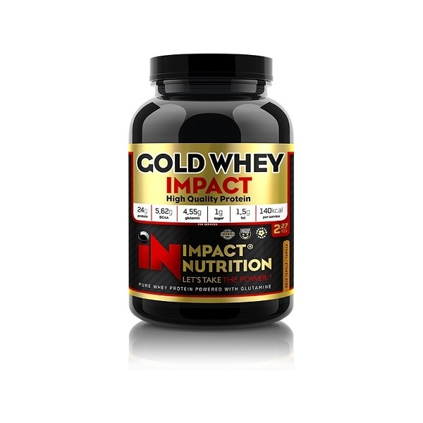 Test complement alimentaire:  la Gold Whey Impact de Impact Nutrition