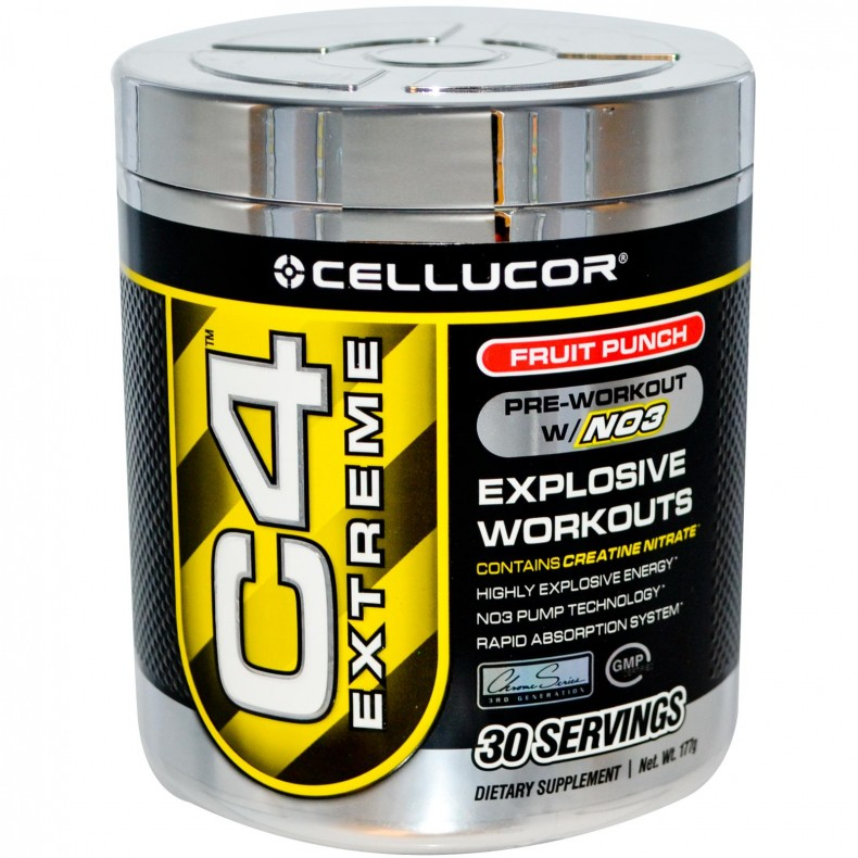 Test Complement alimentaire : le Booster C4 Extreme de CELLUCOR (version non autorisée en france)