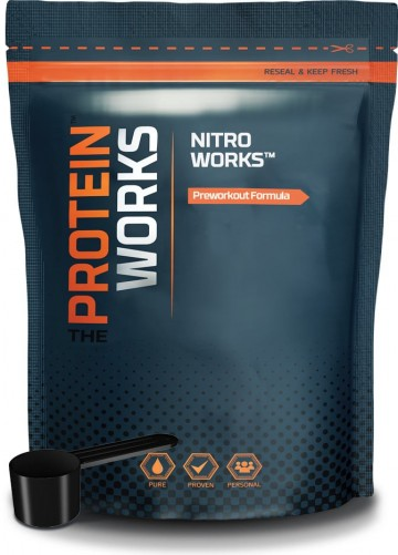 Test Complement alimentaire : booster Nitro Works de THE PROTEIN WORKS