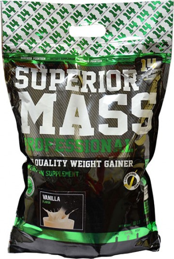 Test complement alimentaire:  Gainer Superior Mass Professionnal  Superior14