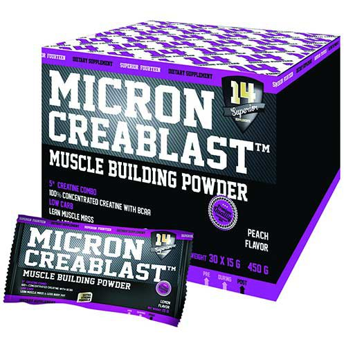 Test complément alimentaire : Micron Creablast de Superior14