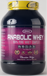 Test Complement Alimentaire : Anabolic Whey Complex D'addict Sport Nutrition Nouvelle Formule