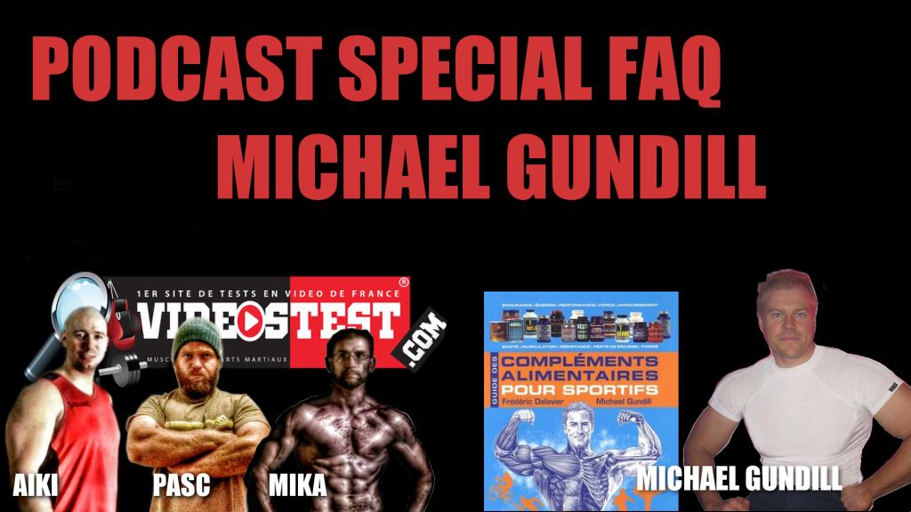 Podcast n°16 Musculation : FAQ Spécial Michael Gundill
