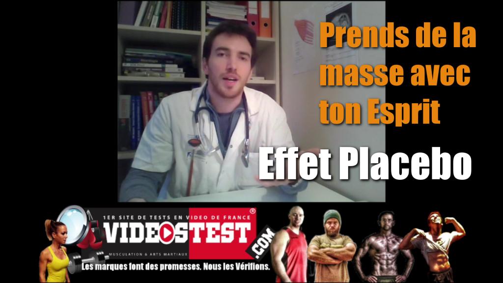 Prendre de la masse par l'esprit: L'effet Placebo