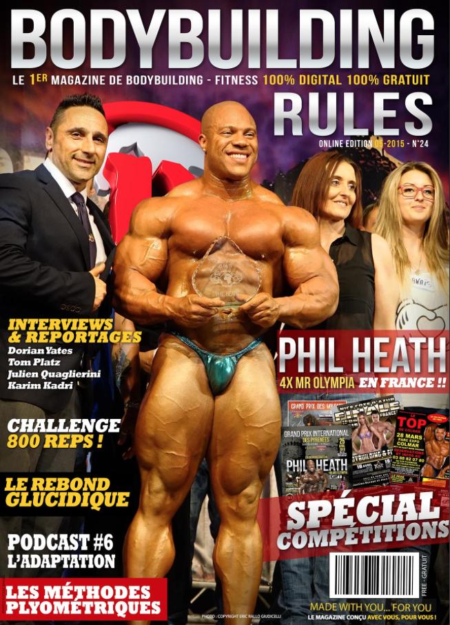 Nouveau Numéro de Bodybuilding-rules moi de Mai 2015